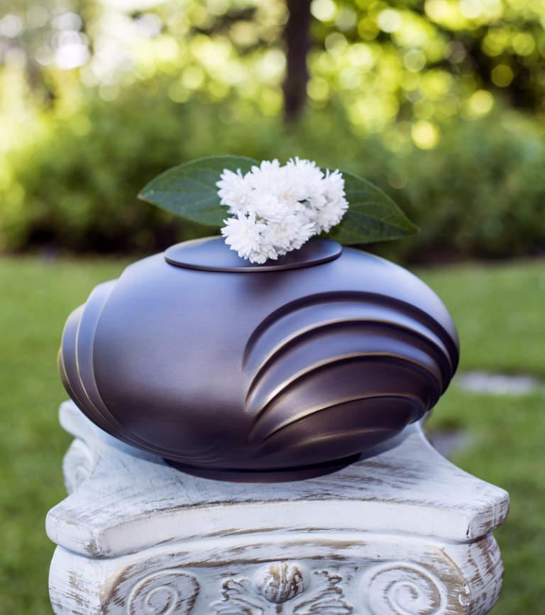 urna contenente ceneri di cremazioni animali