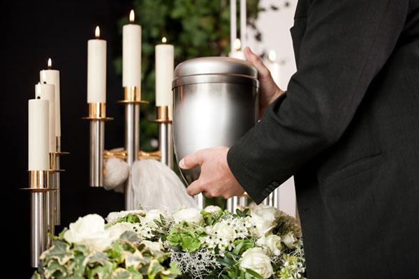 Urna per cremazioni